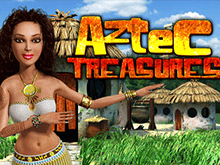Игровой автомат Aztec Treasure 2D на сайте Вулкан казино