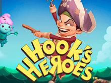 Герои Крюка — забавный игровой автомат в интернет-казино Вулкан